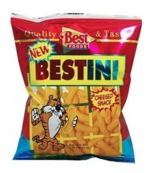 Bestini Cheese Snacks 25g (Best Food)