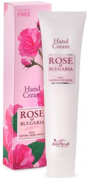 Handcreme mit Rosenwasser, 75ml  (Rose of Bulgaria)
