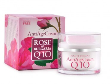 Anti-Age Creme mit Q10, 50ml (Rose of Bulgaria)