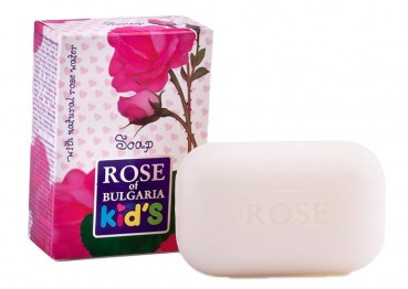 Kids Seife mit Rosenöl, 100g  (Biofresh)