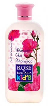 Kids Duschgel & Shampoo 2in1, 200ml (Rose of Bulgaria)