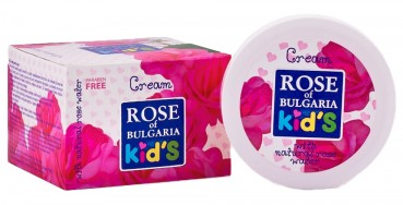 Kids Creme mit Rosenwasser, 75ml (Rose of Bulgaria)
