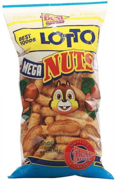 Lotto Mega Nuts 60g (Best Food)