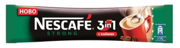 Nescafe 3in1, Instant, -Strong-, 28*18g